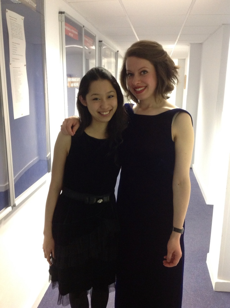 Final recital at RCM!