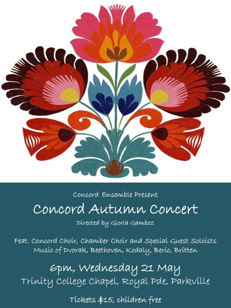 Concord Autumn Concert