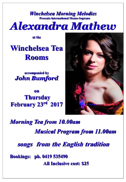 Winchelsea Morning Melodies
